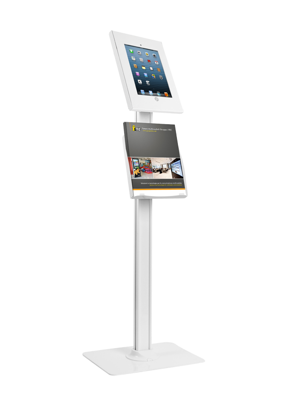Totem multimediale per tablet a ipad
